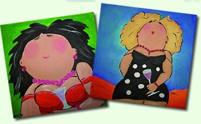 Direct inschrijven stichting 39 paraplu 39 for Dikke dames schilderen